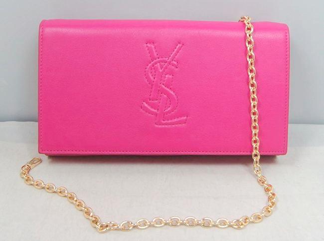 圣罗兰牛皮钱包,新款ysl圣罗兰女士晚宴手包图片大家
