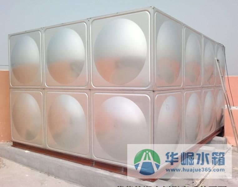 供应湖南长沙不锈钢方形水箱 华崛不锈钢水箱厂 成品不锈钢水箱
