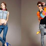 广州韩版牛仔裤加盟图片