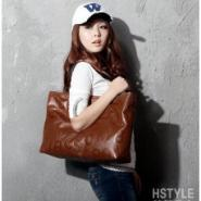 韩国新款女包简约字母单肩包图片