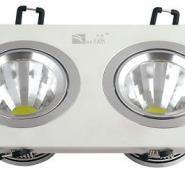 贝高LED天花灯亚白环高光反光杯10W图片