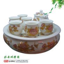 供应礼品定做专业礼品茶杯茶具景德镇