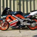 本田摩托车NSR150图片