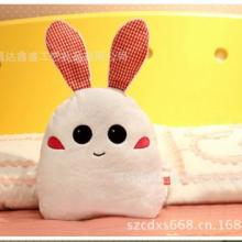 毛绒玩具抱枕,深圳毛绒玩具厂供应定制个性时尚可爱兔仔公仔玩具