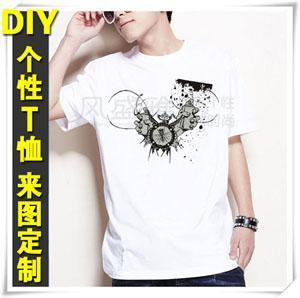 潮男百搭T恤图片