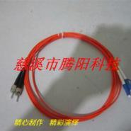ST-LC多模双芯光纤跳线图片
