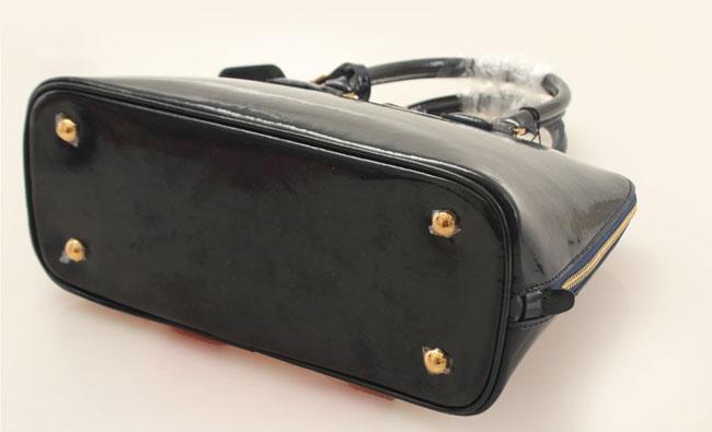 漆皮手提包图片|漆皮手提包样板图|普拉达漆皮手提包