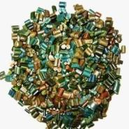 再生颗粒/PE二次料新下角塑料颗粒图片