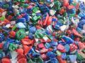 杂色进口PE再生料HDPE粉碎料图片