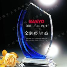 供应广州企业年终优秀经销商授权牌,广州水晶授权牌厂家定做批发
