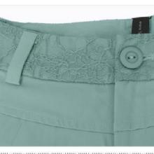 供应2013韩版女七分裤抽褶显瘦休闲裤