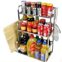 供应不锈钢厨房置物架收纳层架调味架厨房用品用具调料整理架