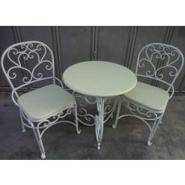 铁艺家具休闲桌椅户外桌椅图片
