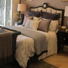 样板房床品/新古典床品/多件套床品/提花床品十一件套
