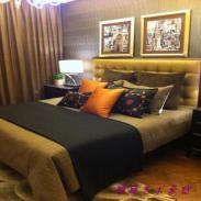 样板间床品奢华美式床品12件套图片