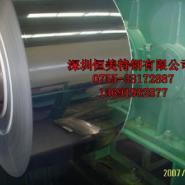 深圳进口301无磁不锈钢镀镍钢带图片