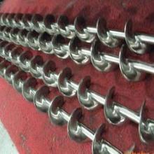 不锈钢螺旋输送机材料为高耐磨损、耐腐蚀的合金材料