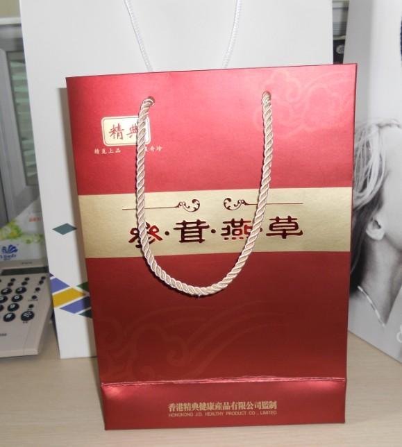 供应广州手提纸袋、铜版纸/牛皮纸手提纸袋,广告宣传纸袋