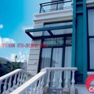 深圳玻璃雨棚图片