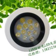 12W防眩光LED天花灯12W天花灯图片
