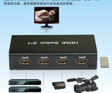 供应HDMI切换器(5切1)图片