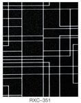 彩色不锈钢覆膜板黑钛线条纹图片