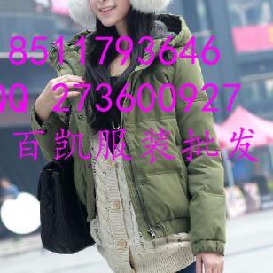 冬装棉服羽绒服图片