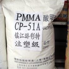 供应PMMA镇江璐彩特CP-51A透明塑胶原料 亚克力 注塑级批发