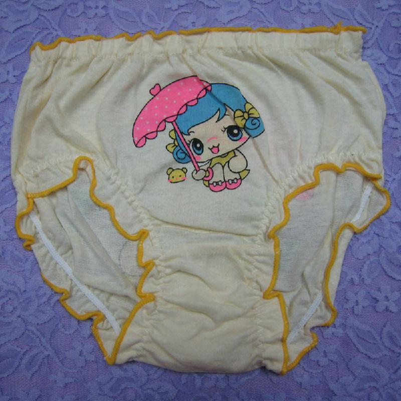 头像图片女童|女童样板内裤图|18200女生透气纯棉无脸内裤图片