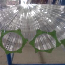 供应35MM玻璃梅花管,高透光玻璃梅花管,玻璃梅花管订购批发