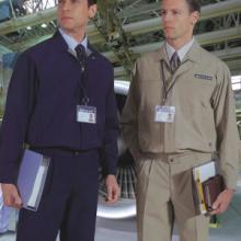 供应萝岗区工人劳保服装订做,夏季劳保服批发供应图片