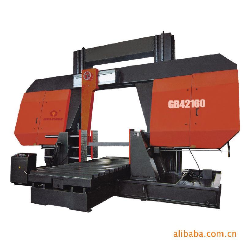 供应带锯床双金属带锯床GB42160方柱龙门式带锯床