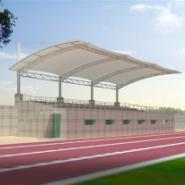 长沙膜结构车棚张拉膜体育场看台图片