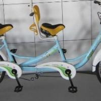奥威特2人双人骑车双人自行车