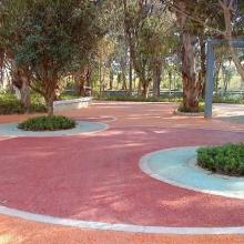 供应彩色生态透水地坪,透水路面——城市排水系统之首选批发
