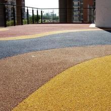 供应生态透水地坪 透水混凝土地坪——施工精湛图片