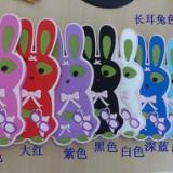 供应硅胶长耳兔手机套/滴胶硅胶套/支持定做卡通动物3D立体硅胶手机套