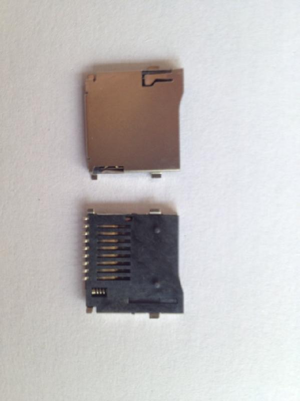 供应TF外焊卡座TFPUSH卡座TF卡座