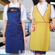 围裙广告围裙99纯棉免费设计全国免运费型号LDWQ-012 广告围裙,促销围裙,围裙定制批发