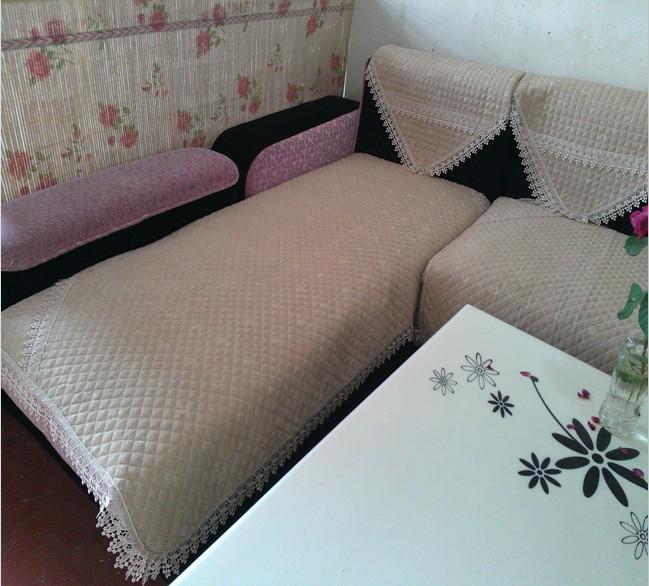 毛线钩织沙发垫图解