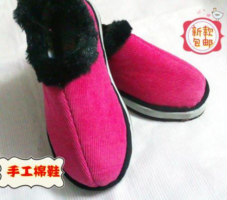 手工小孩棉布鞋儿童宝宝保暖鞋销售