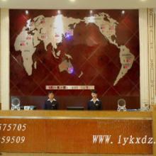 供应酒店大堂用品/酒店大堂背景墙装饰-新款世界地图钟批发