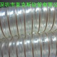 食品级钢丝管PU食品管食品输送管图片