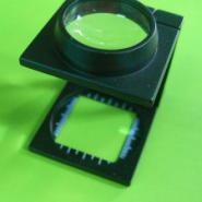 折叠C型金属10倍放大镜图片