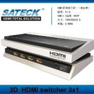 HDMI切换器三切一图片