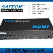 HDMI分屏器一进十六出图片