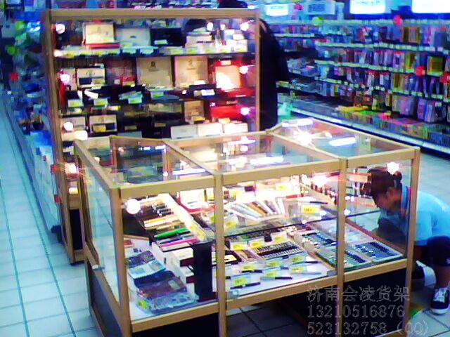 供应学习用具文具货架展示柜