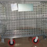 供应丽水仓储笼折叠式仓库笼,金属周转箱筐;铁笼子,生产厂家欢迎您
