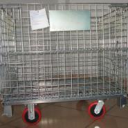供应金华仓储笼折叠式仓库笼,金属周转箱筐;铁笼子,生产厂家欢迎您