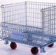 供应北京仓储笼折叠式仓库笼,金属周转箱筐;铁笼子厂家欢迎您,货到付款